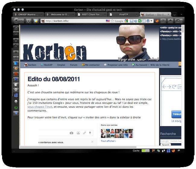 cap 2011 08 12 à 08.22.38 Mantra   Le navigateur des hackers