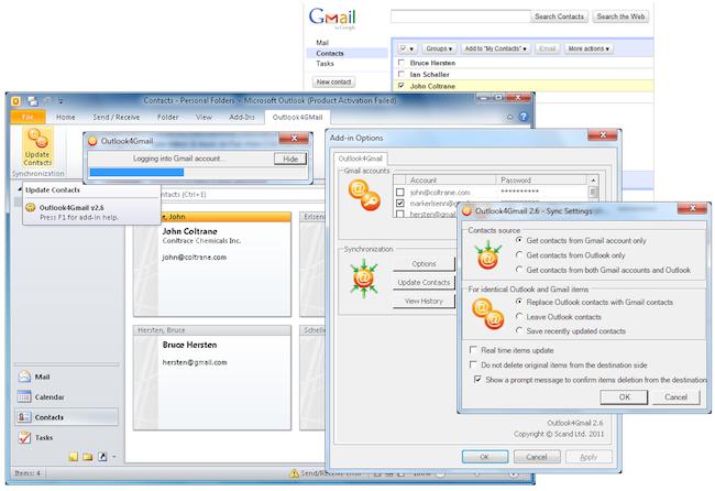 cap 2011 08 29 %C3%A0 06.17.38 Synchroniser un carnet dadresse Gmail avec un carnet dadresse Outlook