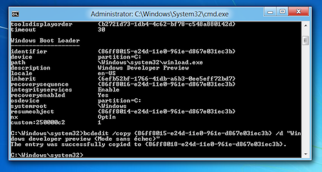 Win8 En fonction Oracle VM VirtualBox 2011 09 22 09 09 02 Mode sans échec sous Windows 8