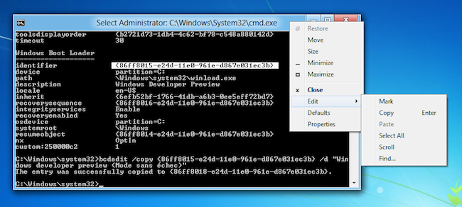 Win8 En fonction Oracle VM VirtualBox 2011 09 22 09 09 50 Mode sans échec sous Windows 8