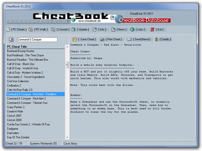CheatBook 01.2011