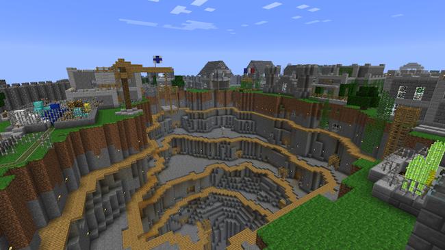 Minecraft Comment Faire Une Salle De Bain. Amazing Comment Faire Une ...