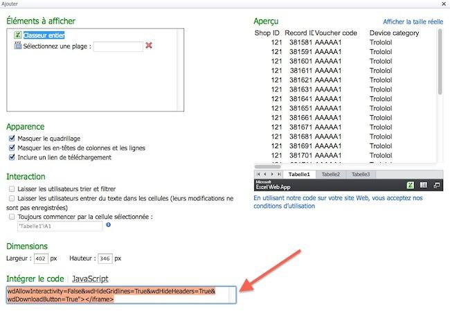 cap 2011 12 13 a%CC%80 08.03.04 Intégrer un document excel dans une page html
