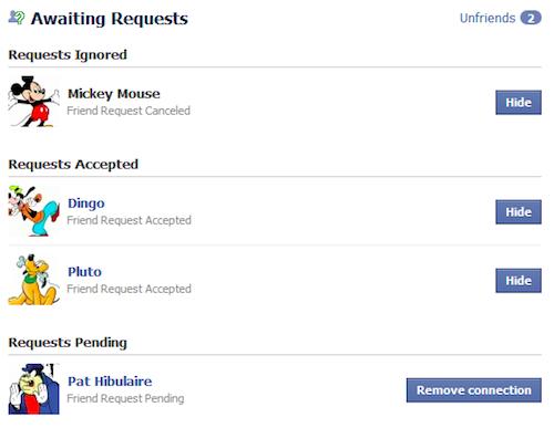 mickey Comment savoir qui vous a supprimé de facebook