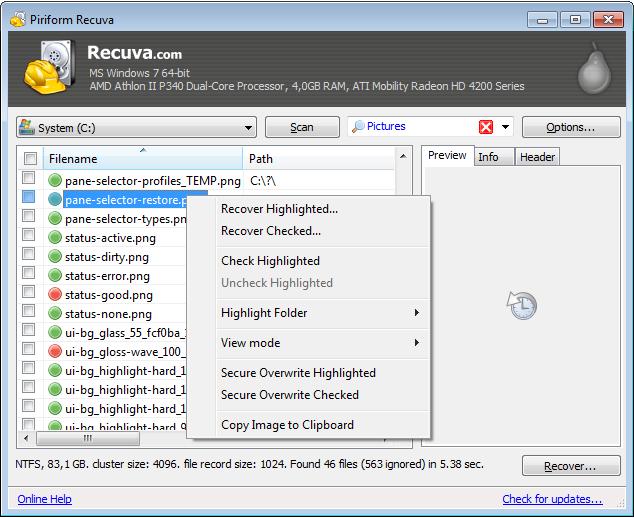scaninalistview Android   Comment récupérer des fichiers ou photos effacées par erreur