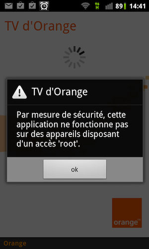 comment avoir orangetv sur un t l phone android root korben. Black Bedroom Furniture Sets. Home Design Ideas
