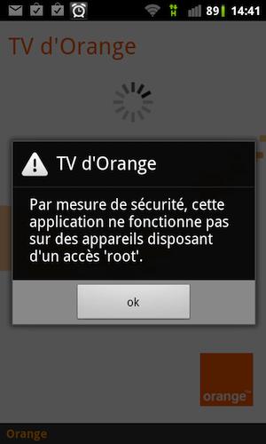 Comment avoir orangetv sur un t l phone android root korben - Comment avoir tv orange sur plusieur tv ...
