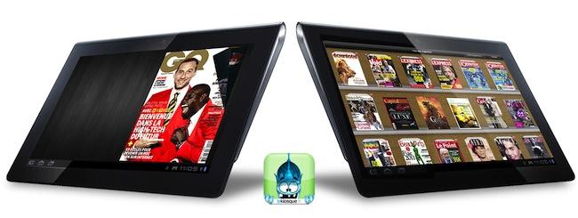 sony bibliothque lecture V2 Cest bientôt Noël ! 3 tablettes Sony et 10 magazines par mois pendant 1 an à gagner.