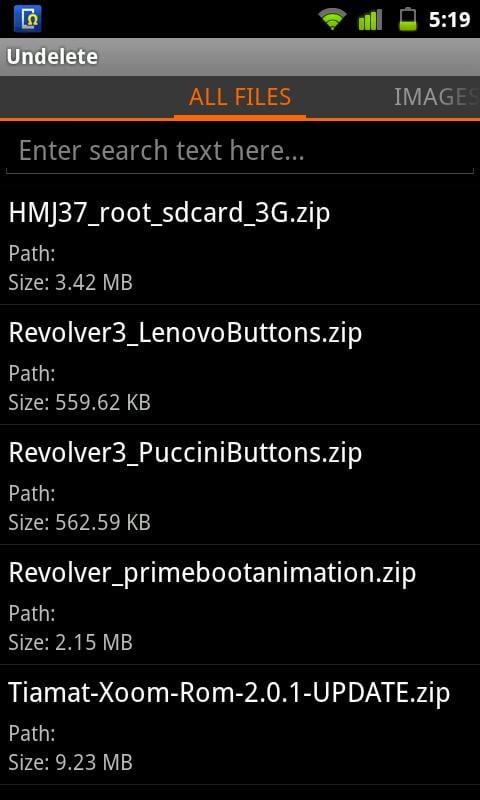 unnamed Android   Comment récupérer des fichiers ou photos effacées par erreur