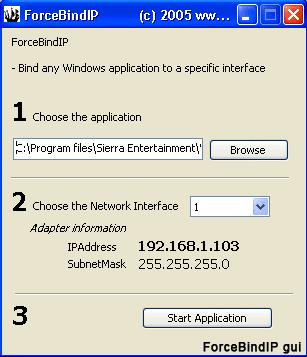 hellskitchenscreen Forcer un logiciel à passer par une interface réseau