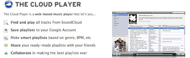 The Cloud Player