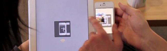 Swÿp – Du drag & drop entre appareils mobiles