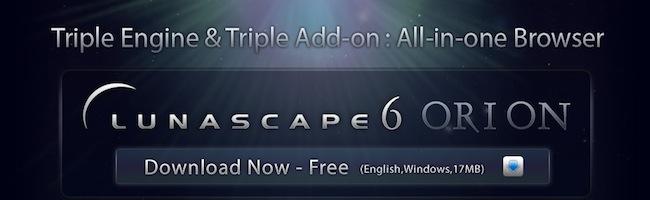 Lunascape – 3 navigateurs en 1 pour les développeurs web