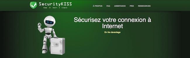 SecurityKISS – Le VPN pour dépanner…