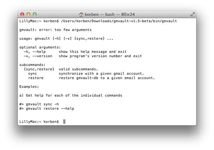 Sauvegarder Gmail avec Gmvault - Korben