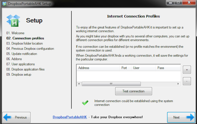 dropboxportableAHKconfig Utiliser 2 comptes Dropbox sur la même machine