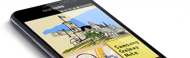 Cyanogenmod 9 débarque sur le Galaxy Note