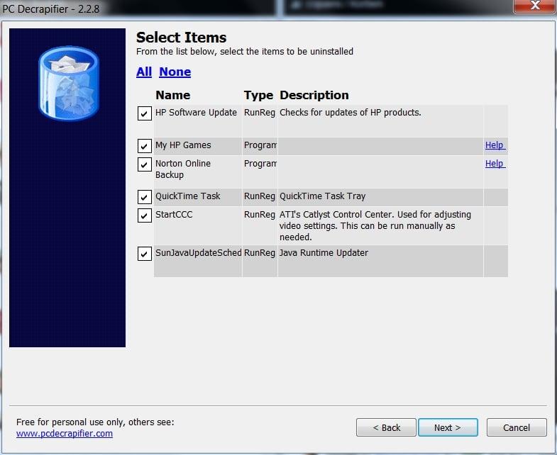 pcdecrapifier Comment nettoyer les cochonneries pré installées sur un PC de marque