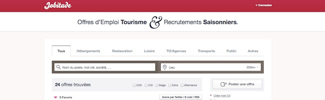 Jobitude le site d 39 emploi des m tiers du tourisme korben - Offre d emploi directeur office de tourisme ...