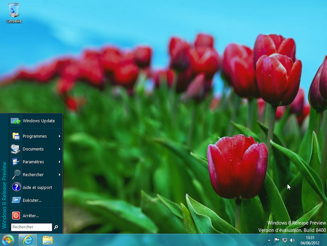 na Windows 8   Comment retrouver le menu Démarrer