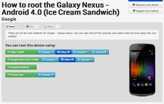 root Trouver le bon tuto pour rooter un téléphone Android