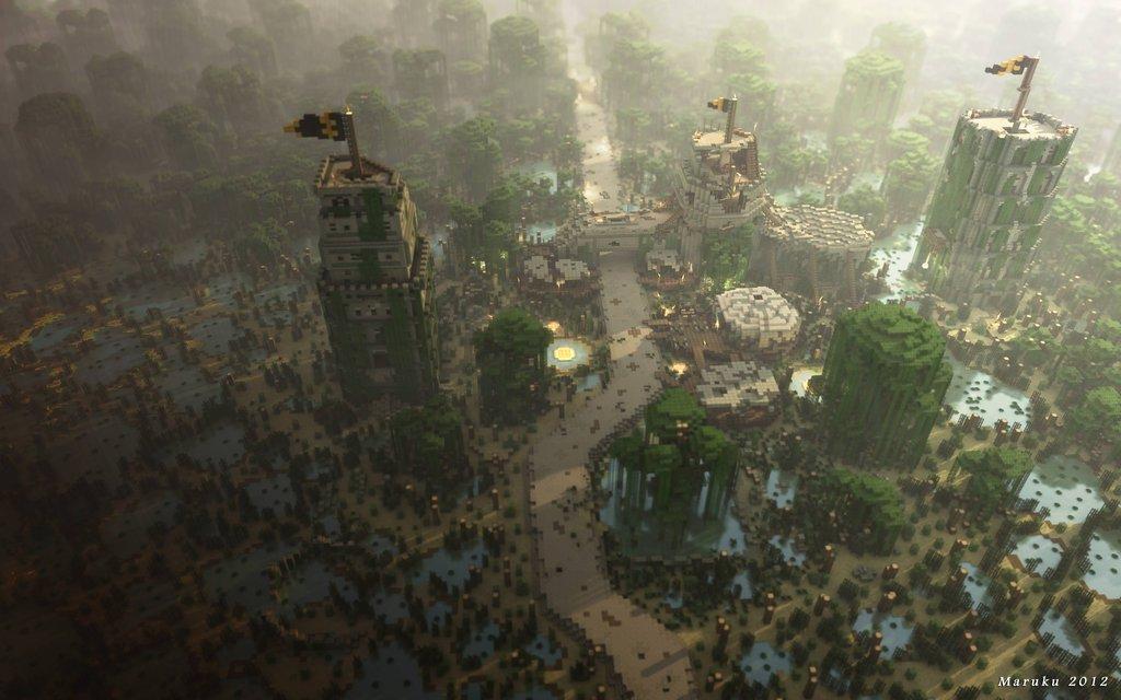 Univers de game of thrones dans minecraft