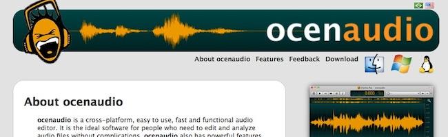 Ocenaudio – Un éditeur audio gratuit pour Linux, OSX et Windows