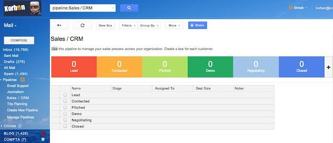 streak2 Streak   Utilisez Gmail comme CRM