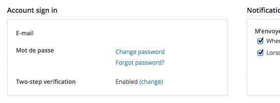 db2 Une nouvelle couche de sécurité pour Dropbox