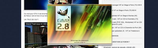 The Gimp débarque sous Mac