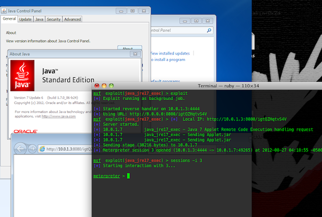 javafail Un 0day dans Java   Cest le moment de désactiver Java
