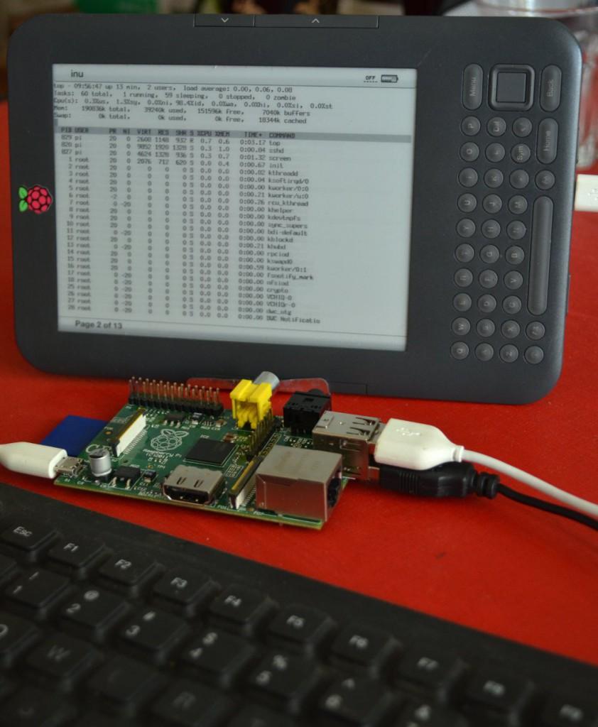 kindle berry pi 842x1024 Un écran Kindle pour le Raspberry Pi