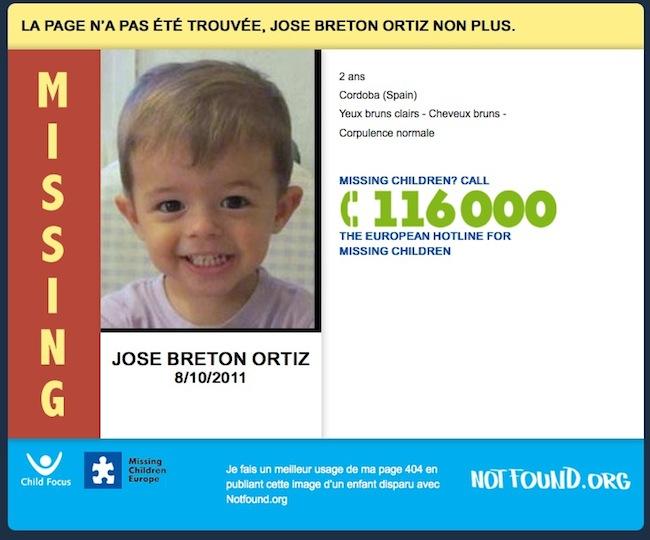 nono Lerreur 404 qui peut sauver un enfant