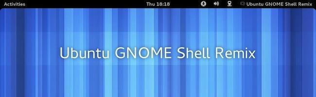 Ubuntu Gnome Remix disponible en téléchargement