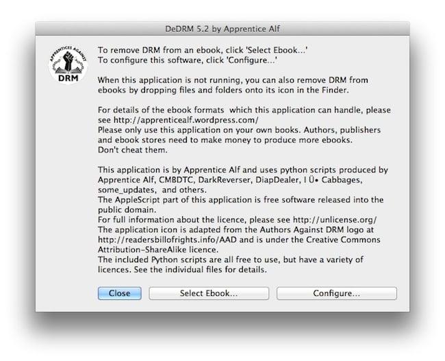 mac Kindle   Comment enlever les DRM
