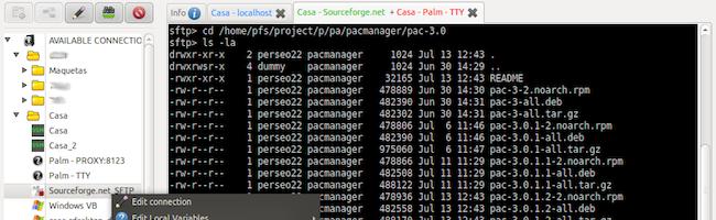 PAC Manager – Un outil pour centraliser vos connexions multi protocoles sous Linux