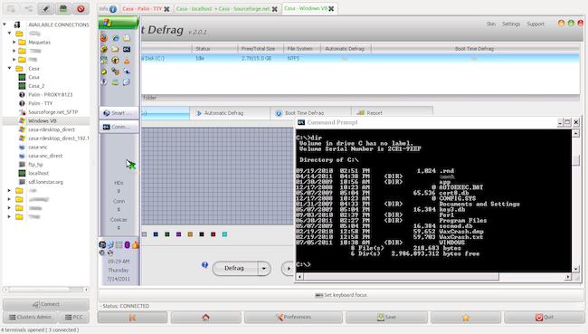PAC2 PAC Manager   Un outil pour centraliser vos connexions multi protocoles sous Linux