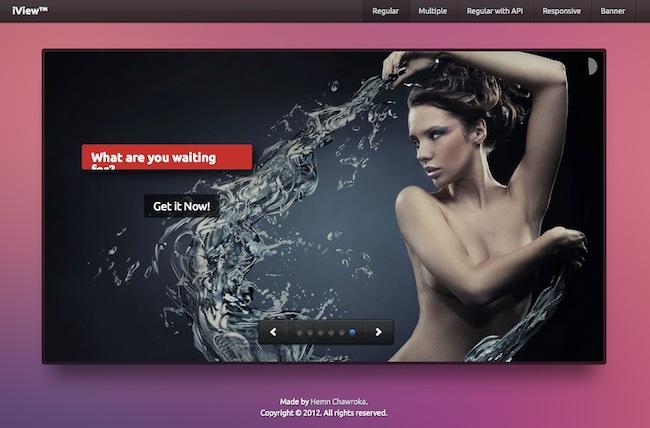 iview Un joli caroussel pour vos sites web
