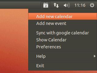 calendar indicator app icon Gérer son calendrier (Google) directement depuis la barre de notif dUbuntu