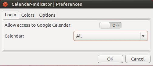 indicator Gérer son calendrier (Google) directement depuis la barre de notif dUbuntu