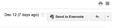 sendto Everbot   Le chainon manquant entre Evernote et Google