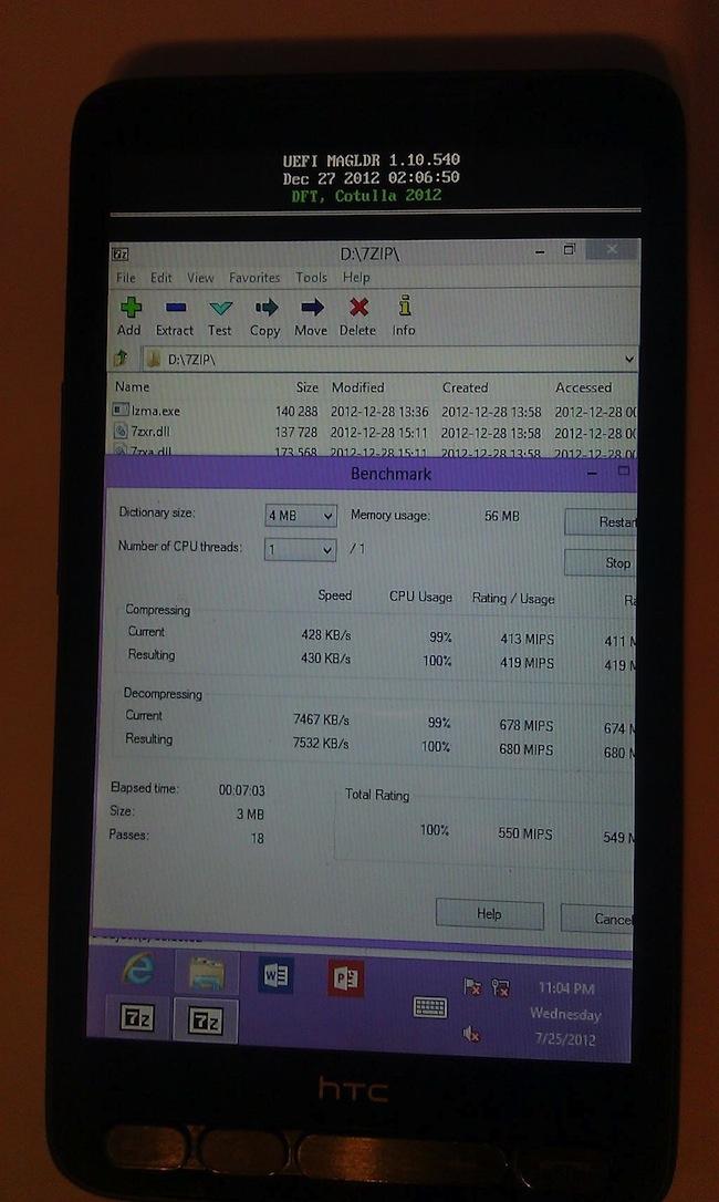 A MykATCUAAsGOC Cest dans les vieux téléphones quon fait les meilleurs portages de Windows 8