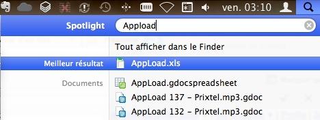 Precipitate Connectez Google Docs et Picasa avec Spotlight (OSX)