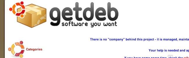 Adieu GetDeb et PlayDeb