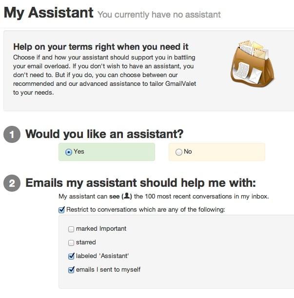 gmail valet GmailValet   Pour brancher des assistants virtuels sur votre Gmail