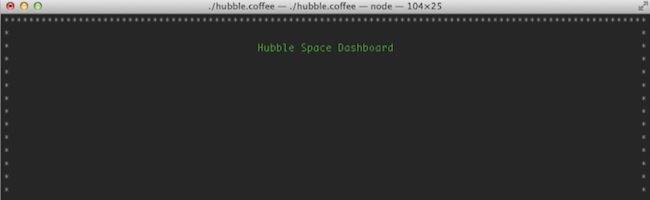 Hubble – Un tableau de bord personnalisable dans votre terminal