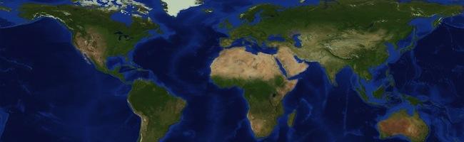 Il récrée la Terre à l'échelle 1:1500 dans Minecraft !