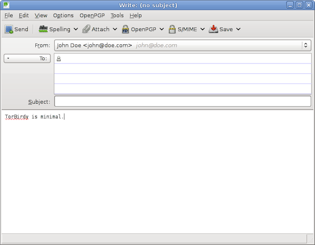 TorBirdy 0.0.12 plain text compose TorBirdy   Une extension Tor pour Thunderbird
