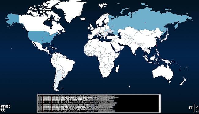 honeynet Toute la beauté des cyber attaques en quelques cartes