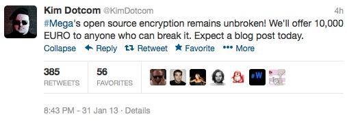 kim Mega   Il est possible de changer de mot de passe
